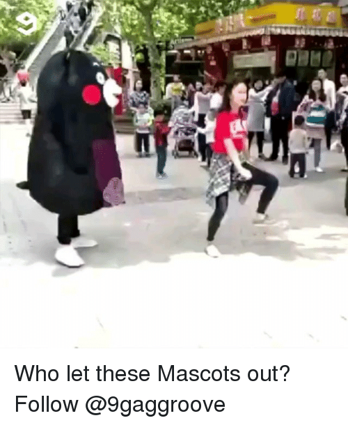 mascots: Who let these Mascots out? Follow @9gaggroove