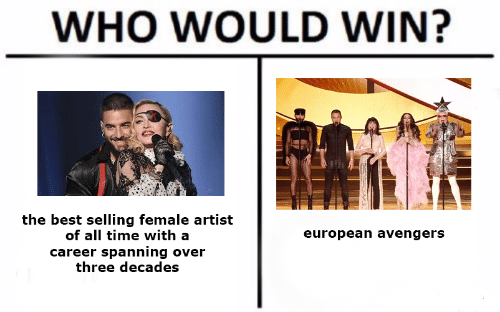 Avengers, Best, and Time: WHO WOULD WIN?  the best selling female artist  of all time with a  european avengers  career spanning over  three decades