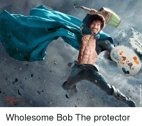 Wholesome, Bob, and The Protector: Wholesome Bob The protector