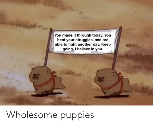 Puppies: Wholesome puppies