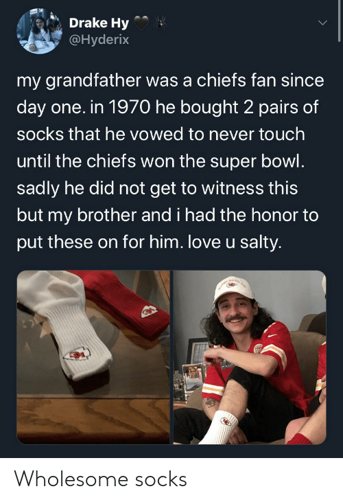 Wholesome and Socks: Wholesome socks
