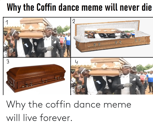 Live Forever: Why the coffin dance meme will live forever.