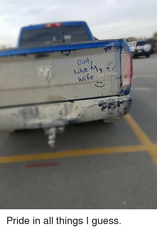 Guess, Wife, and Trashy: wife