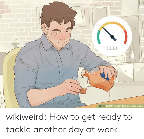 brain cells: wiki How to Get Brain Cells Back wikiweird:  How to get ready to tackle another day at work.