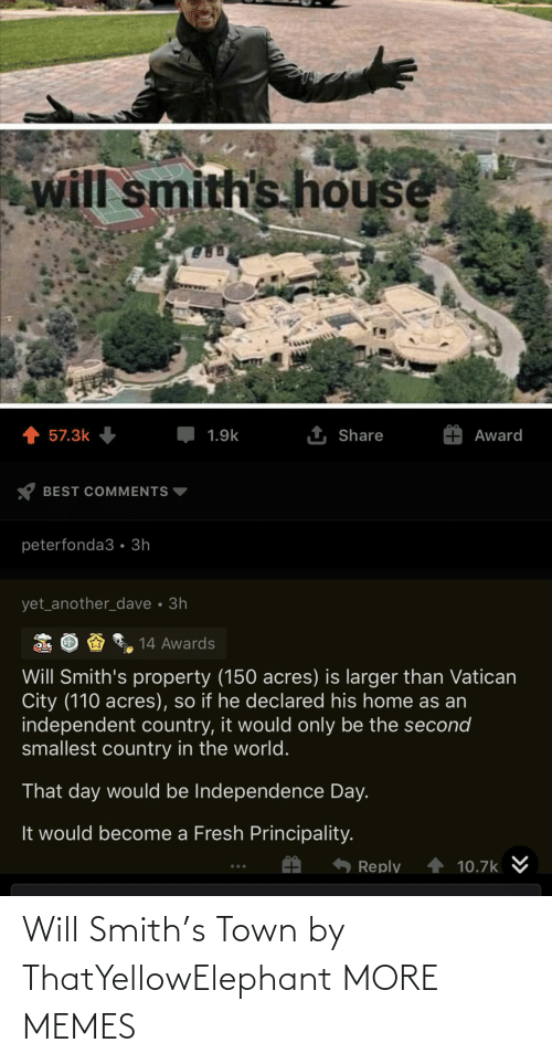 Smith: Will Smith's Town by ThatYellowElephant MORE MEMES