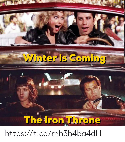 Winter Is: Winter is Coming  The Iron Throne https://t.co/mh3h4ba4dH