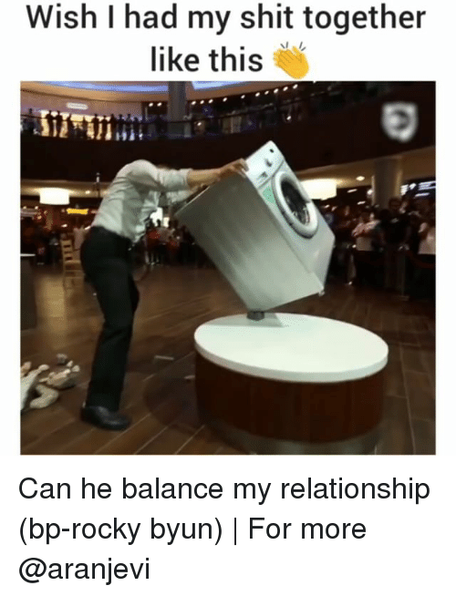 Rockies: Wish had my shit together  like this Can he balance my relationship (bp-rocky byun) | For more @aranjevi