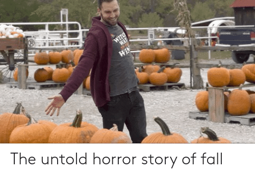 horror: WITC  WAY  WIN The untold horror story of fall