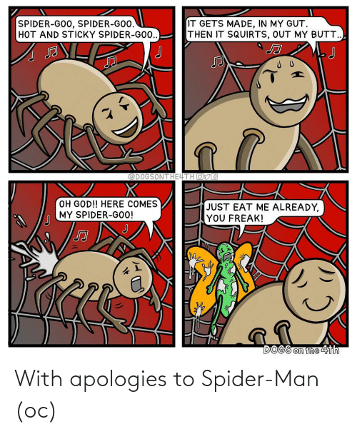 Spider: With apologies to Spider-Man (oc)