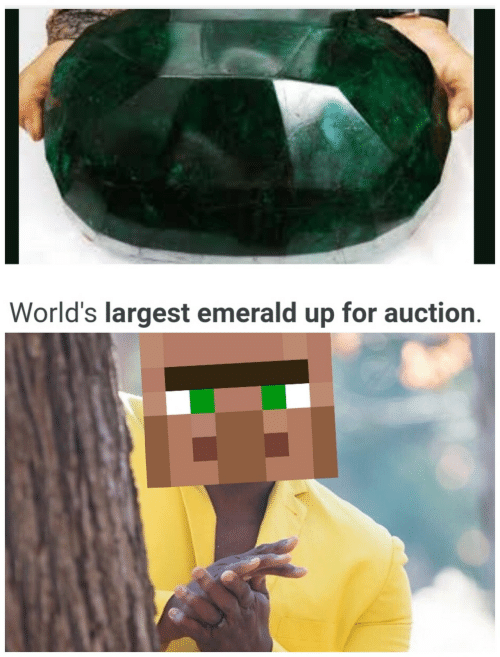 Emerald, For, and  Auction: World's largest emerald up for auction.