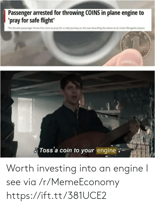 R Memeeconomy: Worth investing into an engine I see via /r/MemeEconomy https://ift.tt/381UCE2