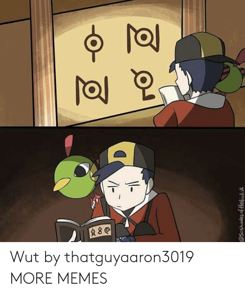 wut: Wut by thatguyaaron3019 MORE MEMES