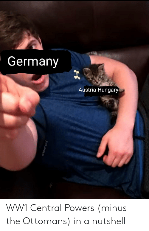 central powers: WW1 Central Powers (minus the Ottomans) in a nutshell