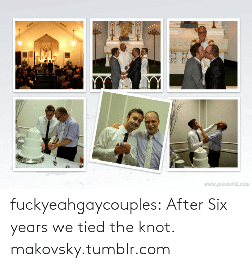 the knot: www.photovisi.com fuckyeahgaycouples:  After Six years we tied the knot. makovsky.tumblr.com