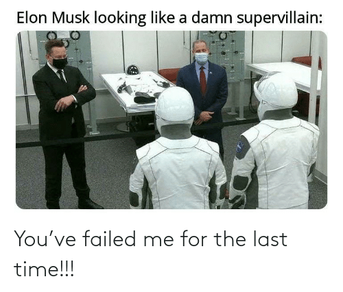 The Last: You've failed me for the last time!!!