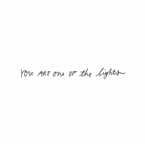 You, Ons, and You Are: You ARE ons or the ghts