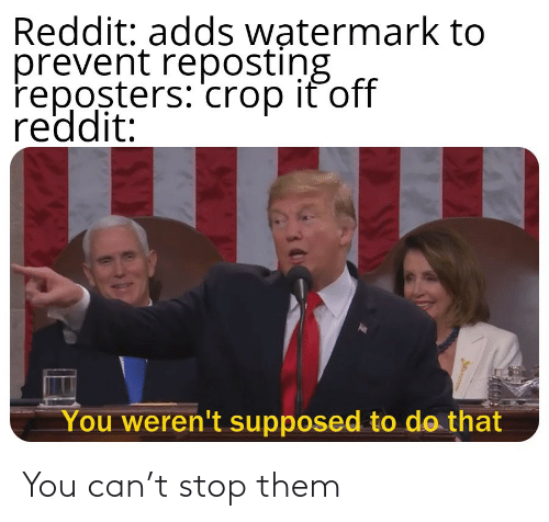 You Can: You can't stop them