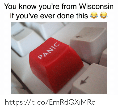 panic: You know you're from Wisconsin  if you've ever done this  PANIC https://t.co/EmRdQXiMRa