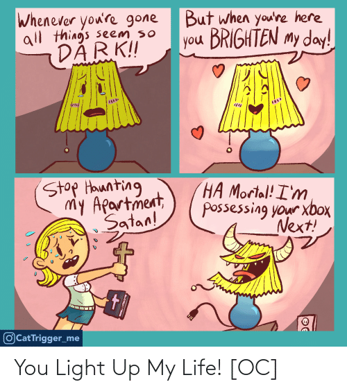 Life: You Light Up My Life! [OC]