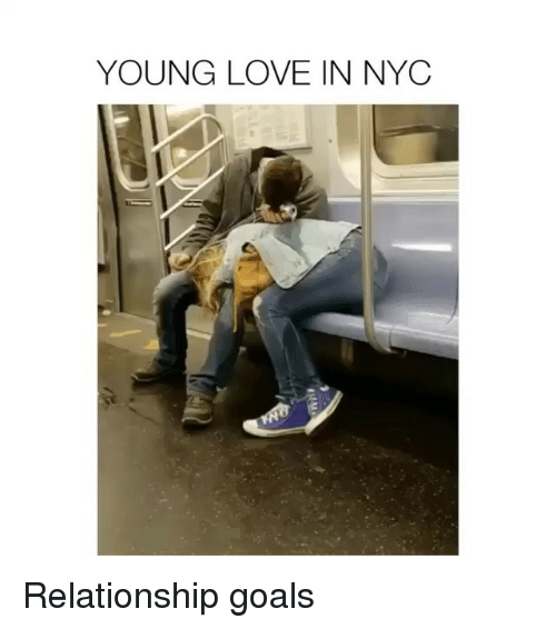 Funny, Goals, and Love: YOUNG LOVE IN NYC Relationship goals