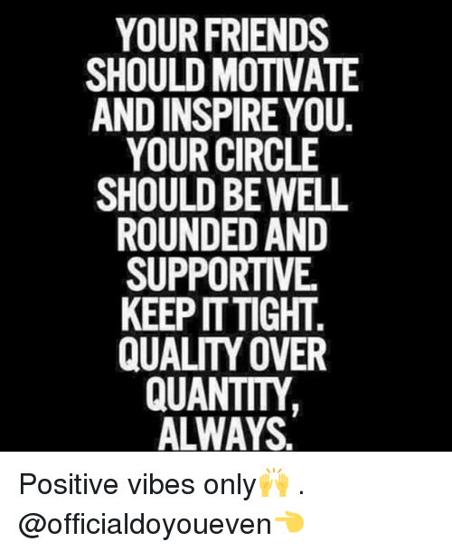 your friends should motivate and inspire you your circle should 222127 your friends should motivate and inspire you your circle should be