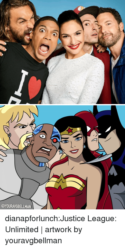 Justice League: @YOURAVGBELLMAN dianapforlunch:Justice League: Unlimited | artwork by youravgbellman