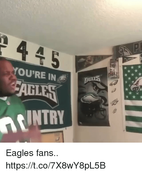 Philadelphia Eagles, Football, and Nfl: YOU'RE IN  CABLES  INTRY Eagles fans.. https://t.co/7X8wY8pL5B