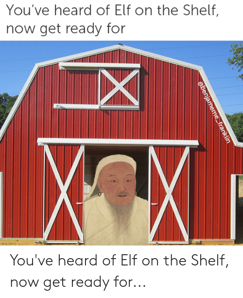 Elf, Elf on the Shelf, and History: You've heard of Elf on the Shelf,  now get ready for You've heard of Elf on the Shelf, now get ready for...