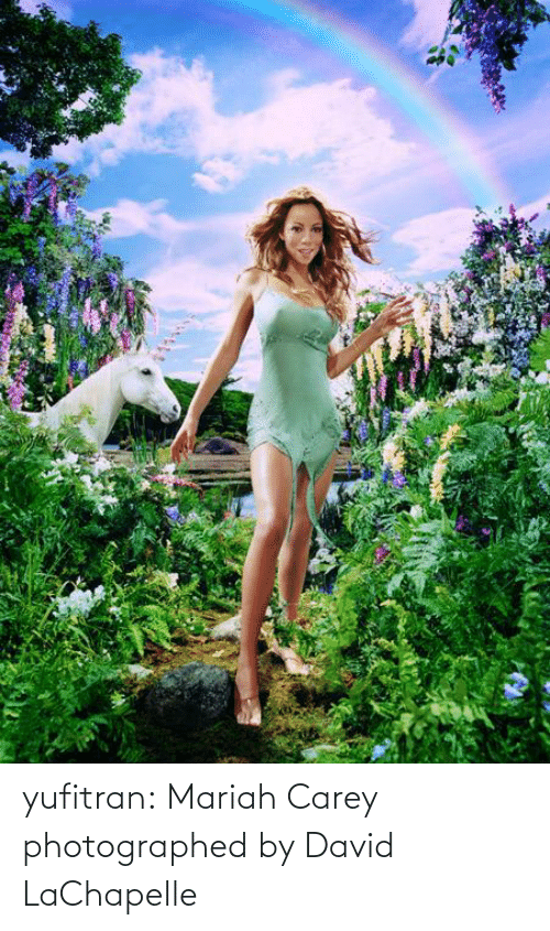 David: yufitran:  Mariah Carey photographed by David LaChapelle