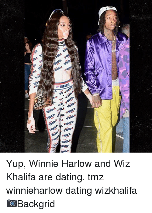 wiz: Yup, Winnie Harlow and Wiz Khalifa are dating. tmz winnieharlow dating wizkhalifa 📷Backgrid
