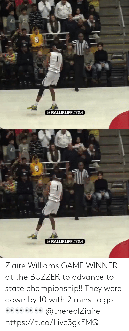 Game Winner: Ziaire Williams GAME WINNER at the BUZZER to advance to state championship!! They were down by 10 with 2 mins to go 👀👀👀👀 @therealZiaire https://t.co/Livc3gkEMQ